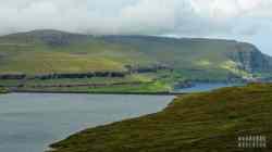 Jezioro Eiðisvatn, Eysturoy - Wyspy Owcze