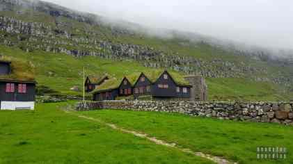 Kirkjubøargarður w Kirkjubøur, Streymoy - Wyspy Owcze