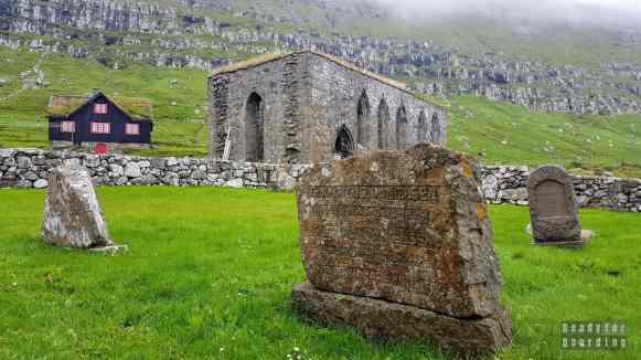 Katedra Magnusa w Kirkjubøur, Streymoy - Wyspy Owcze
