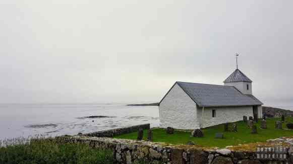 Kościół św. Olava w Kirkjubøur, Streymoy - Wyspy Owcze