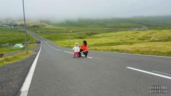 Droga do Gásadalur, Vágar - Wyspy Owcze