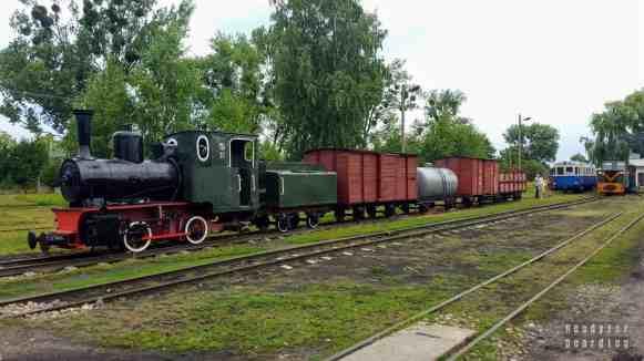 Kolej Wąskotorowa w Rogowie, łódzkie