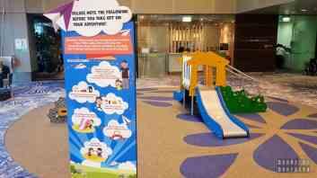 Atrakcje dla dzieci na lotnisku Singapur-Changi