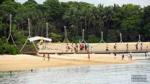 Sentosa, plaże - Singapur