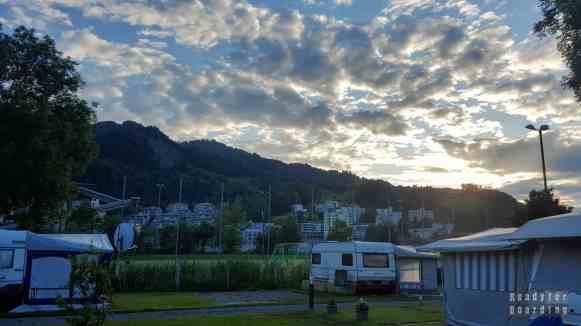 Kempingi w Szwajcarii - TCS Camping Luzern-Horw