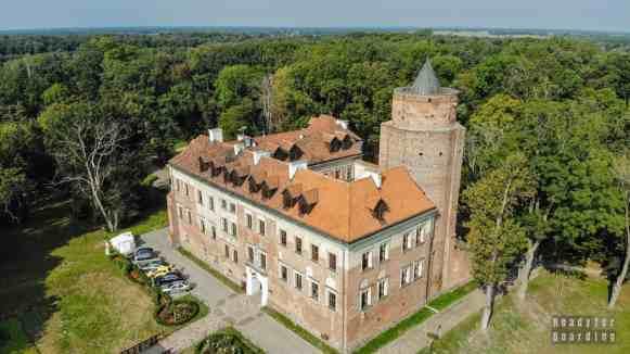 Zamek w Uniejowie, województwo łódzkie