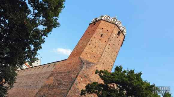 Zamek w Łęczycy, województwo łódzkie