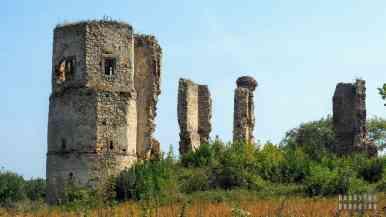 Zamek w Majkowicach - zamki województwa łódzkiego