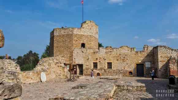 Zamek w Inowłodzu, województwo łódzkie