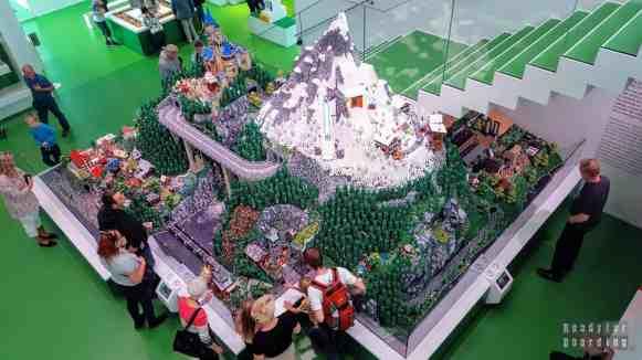 Strefa zielona w Lego House - Billund, Dania