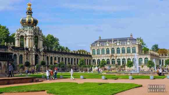 Pałac Zwinger, Drezno - Niemcy