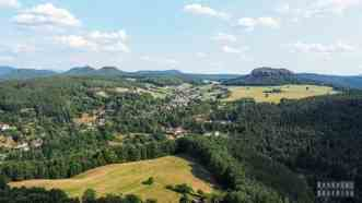 Dolina Łaby, Szwajcaria Saksońska - Niemcy
