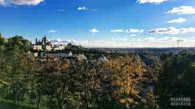 Punkt widokowy na górze Principe Pio, Madryt - Hiszpania