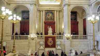 Pałac Królewski w Madrycie, Hiszpania