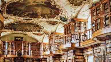 Biblioteka w St Gallen - Szwajcaria