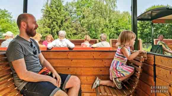 Kolejka wąskotorowa, Weisswasser - Saksonia, Niemcy