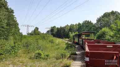 Kolejka wąskotorowa - Saksonia, Niemcy