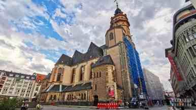 Kościół Św. Mikołaja, Lipsk - Niemcy