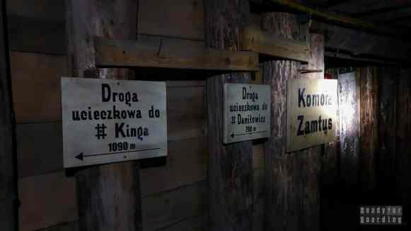"""Kopalnia Soli """"Wieliczka"""" - Trasa górnicza"""
