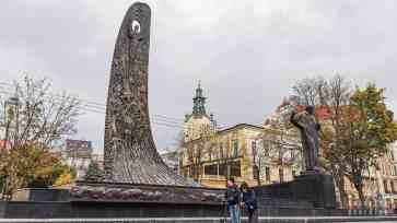 Pomnika Terasa Szewczenki, Lwów