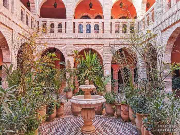 Riad - Marrakesz, Maroko