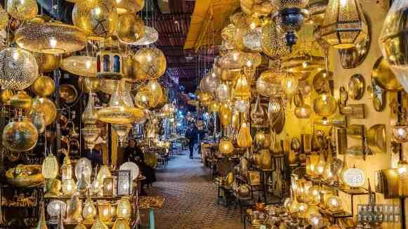 Souk - Marrakesz, Maroko