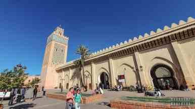 Meczet Moulay el Yazid w Marrakeszu - Maroko