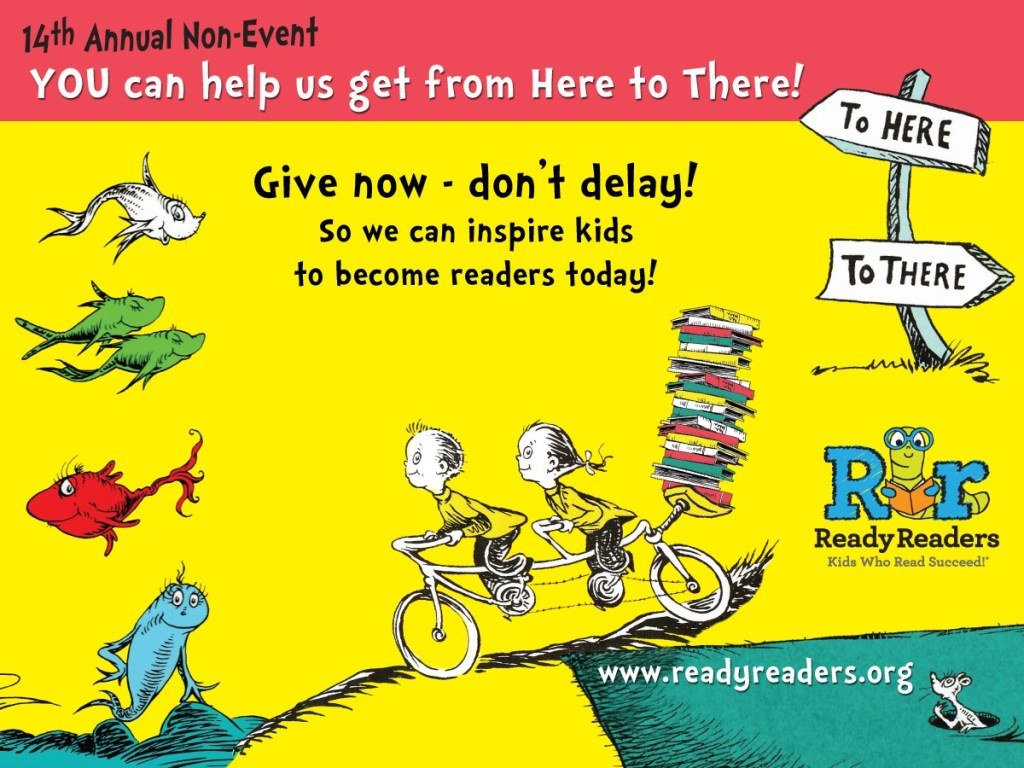 14th Annual Ready Readers Non-Event! – Ready Readers