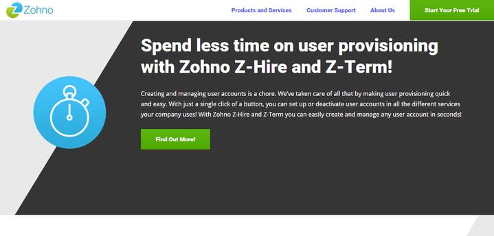 Zohno Z-Hire and Z-Term