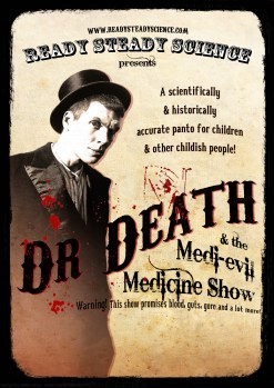 Our poster for theatre shows