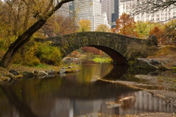 Gapstow Bridge - Nueva York de película