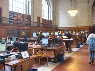 New York Public Library - Nueva York de película