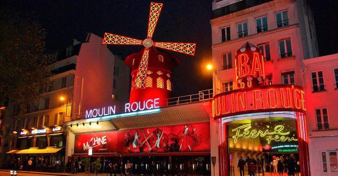 Moulin Rouge en Montmartre, París. Mítico burdel de renombre a nivel mundial.