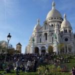 Basilica de Sacre coeur en Montmartre, Paris. Ready To Go