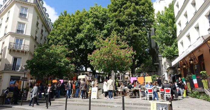 Place Émile Goudeau | Montmartre, Paris