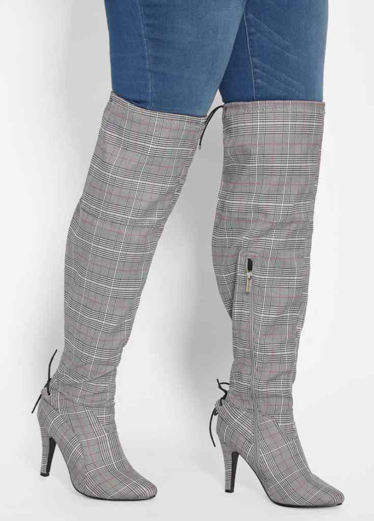 cd9515a52 Plus Size Thigh High Wide Calf Boots - Ready To Stare
