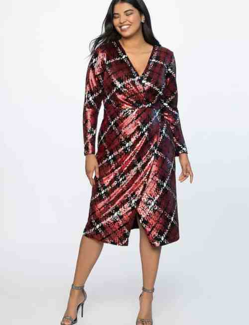 79f07feff37b Plus Size Holiday Clothes  How to Wear Sequins - Ready To Stare