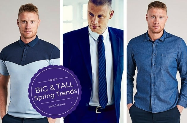 db116079 Men's Big and Tall Spring Fashion Trends with Jacamo - Ready To Stare
