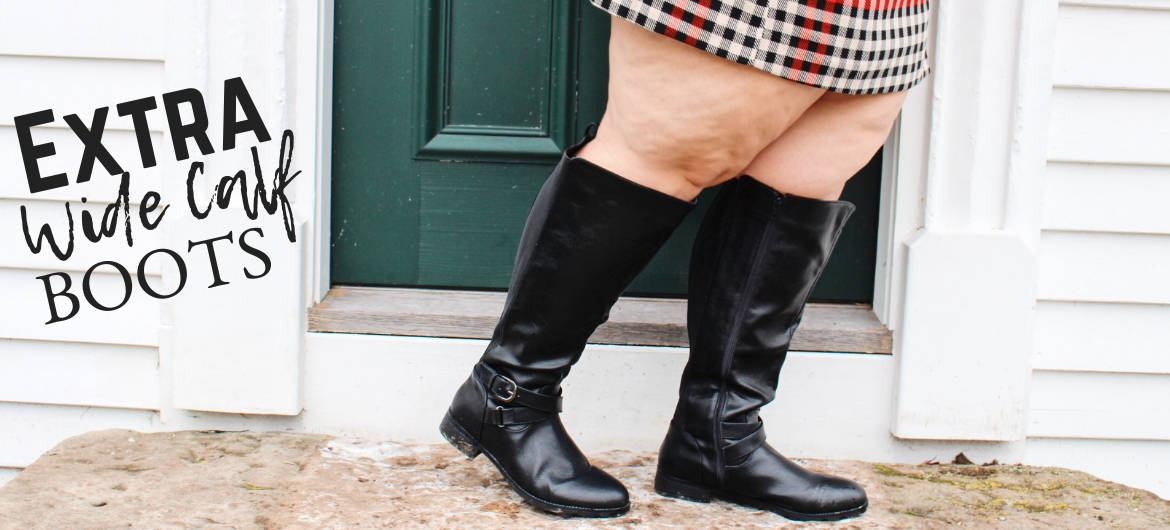 99df6a0f99cf Plus Size Extra Wide Calf Boots - Ready To Stare
