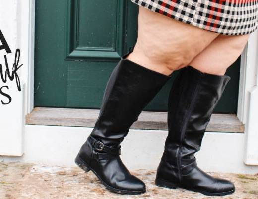 Shopping for Plus Size Extra Wide Calf Boots
