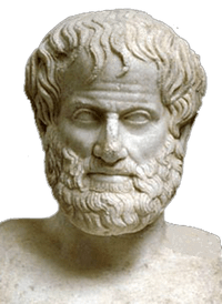 Aristotle - pity he didn't have access to modern news and research.