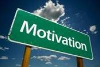 Motivation signpost - motivation is a big part of your mental attitude