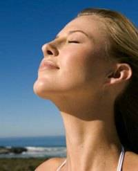 Deep breathing - a great way to start to organise your health and fitness