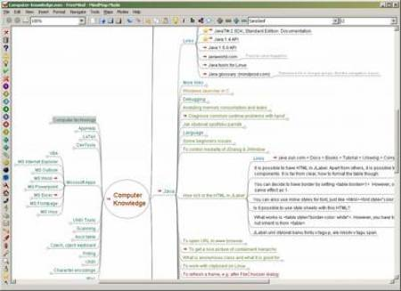 Freemind - free mind mapping software