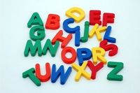 Plastic letters - If you can learn the alphabet, you practically know the alphabet list