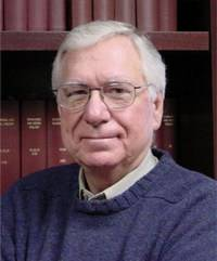 Dr. James L. McGaugh, professor of neurobiology, studying photographic memory