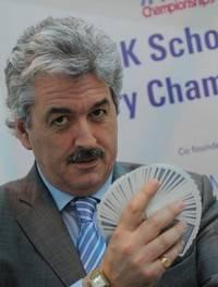 Dominic O'Brien, eight times World Memory Champion