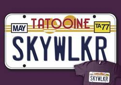 Licence plate - the major system helps you remember the letters
