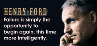 Henry Ford - he answered the question, are we getting dumber. No, we're getting smarter in our questions!