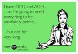 OCD is quite serious.